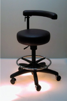 SP101 Assistant Stool w/Ratchet